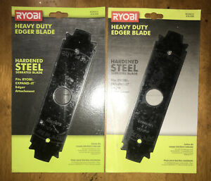 RYOBI Replacement Edger Blade Reversible  8 Inch Hardened Steel Serrated Edges