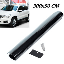 Window Tint Film 5% VLT Black Extreme 50 x 300cm Roll Glass For Car Home Office