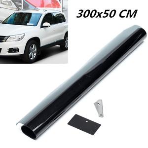 Window Tint Film 5% VLT Black Extreme 50 x 300cm Roll Glass For Car Home Office