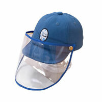 Baby Protective Cover Hat Dustproof Anti-saliva Face Shield Baseball Cap