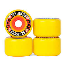 Earthwing Bruiser Slide Wheels Longboard Rollen 87A - 72mm - gelb