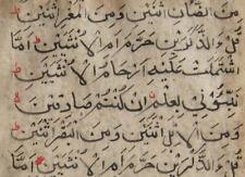 ALTE ARABISCHE HANDSCHRIFT MANUSKRIPT ANTIQUE MANUSCRIPT ISLAM