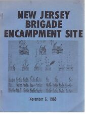History-New Jersey Brigade Encampment Site-Revolutionary War-Maps-1779-1780