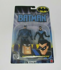 Batman and Nightwing 2002 DC COMICS Mattel MOC