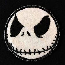 NIGHTMARE JACK SMILEY SKULL BLACK OPS SWAT VELCRO® BRAND FASTENER BADGE PATCH