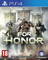 For Honor Playstation 4 PS4 **FREE UK POSTAGE!!**