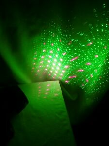 Star Shower Motion Laser Light by BulbHead - ONLY Outdoor Laser Light WORKS