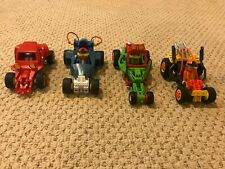 Playmobil Sets 4181-4184 Pull-Back Racecars GOOD CONDITION