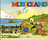 MUSICLAND RECORDER Book 2 Sheet Music Book Shop Soiled