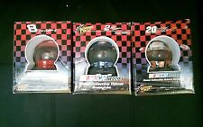 Nascar 2003 Collectible Helmet Snowglobe Lot