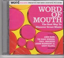 (FP525) Word Of Mouth, The Best Way To Discover Great Music - sealed CD