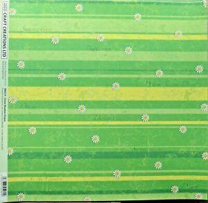 """5 x 12"""" Backing Paper 120gsm Asst Patterns NEW"""