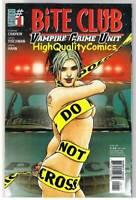 BITE CLUB #1, NM+, Vampires, Howard Chaykin, Blood, 2006, more in store