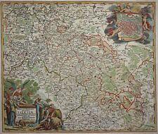 Herzogtum Schlesien - Superioris et inferioris Ducatus Silesiae - Homann 1730