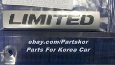 For 2011+ HYUNDAI Avante Elantra Limited Emblem rear trunk Genuine Part