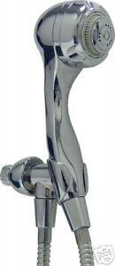 Earth Massage Handheld Chrome Shower head - Water Saving 2.0 gpm N2935CH