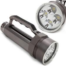 Nuevo 4 xcree XML l 2 Profi Scuba diving LED 6800l MPL Linterna antorcha lámpara