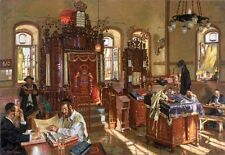 Jerusalem Shul  by Itzhak Holtz Giclee on Canvas 16 x 24 Artwork Reproduction