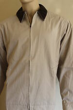 Homme PGA TOUR PARTNERS Club Veste pays Casual col marron beige coton XL