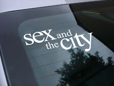 Sex and the city decal sticker tv miniseries *free ship