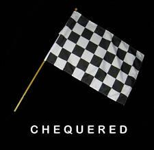 CHEQUERED Hand Waver Flag - 30x45cm