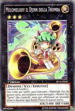 Melomelody il Djinn della Tromba YU-GI-OH! SP14-IT030 Ita COMMON STARFOIL 1 Ed.