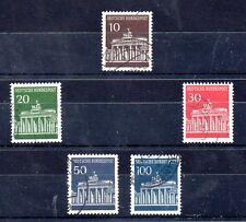 Alemania Federal Monumentos serie del año 1966-67 (BA-871)