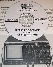 Philips PM3262 Oscilloscope Technical ( Operating & Service)  Manual
