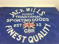 Jack Wills Gbr Sporting Goods Bar Boat Sport Towel Union Jack Uk