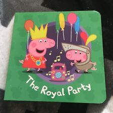 NEW. PEPPA PIG. 11 BY 11 CM. THE ROYAL PARTY. MINI BOARDED. LADYBIRD