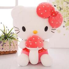 Mushroom Hello Kitty Super Soft Dolls Stuffed Animal Plush Toy Kids Gift 30cm