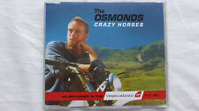 The Osmonds Crazy Horses (Rare/Near Mint) 1995 UK CD Single