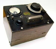 VINTAGE TUBE WAVEMETER RECTIFIER SET 419-A GENERAL RADIO CORP. EXCELLENT