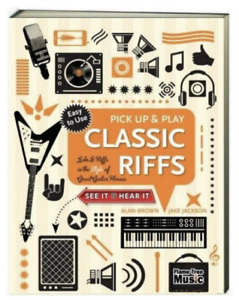 Pick Up & Play Classic Guitar Licks and Riffs  (Paperback, Enclosed Spiral)
