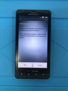Motorola M8810 - Black - Verizon