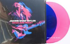 JOANNE SHAW TAYLOR LP x 2 Reckless Heart BLUE / PINK COLOURED Vinyl IN STOCK