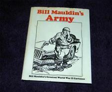 BILL MAULDIN's Army hc dj free ship