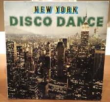 New York Disco Dance By Lombardoni Lp Mix 1983 Italy VG+/VG+ DiscoMagic