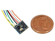 ESU 53620 - LokPilot Fx Nano, Funktionsdecoder MM/DCC, 8-pol. Stecker mit Kabelb