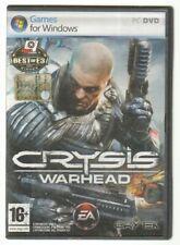 CRYSIS WARHEAD Versione n. 2 dischi Videogioco PC ITA con Manuale
