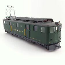 BEMO 1246 414/1246414 yakuza-bagages moteurs voiture de4/6 914 sbb vert h0m