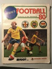 PANINI FOOTBALL 80, complete sticker album in excellent condition and complete