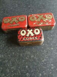 Vintage / Collectibles Oxo Cube storage tins - Individual Tins For Sale