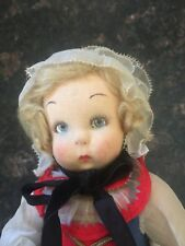 Vintage 12 in Lenci doll 100 series- too good to be true and almost perfect