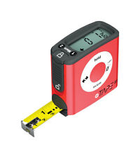 eTape Digital 16 ft. L x 3 in. W Red 1 pk Tape Measure