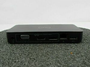 USED Dell D1000 Dual Video USB 3.0 Docking Station NO A/C Adapter