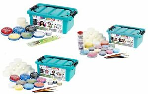 Snazaroo Face Painting Kit Super Deluxe Brushes Sponges Face Paint Adults Kids