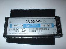 VI-263-EU/S Isolated Module DC DC Converter 1 Output 24V 8.33A Input 200V - 400V