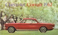Chevrolet Corvair 1962 Dutch Market Brochure Deluxe 4-dr Monza Coupe Convertible