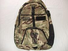 US SPECIAL FORCES MEDIUM  BACKPACK DAY PACK  BOOK COMPUTER BAG CAMO  EMBROIDERED